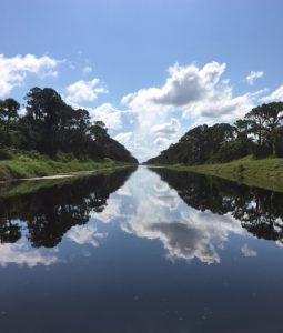 Melbourne-Tillman Canal C-1 east of Minton Road